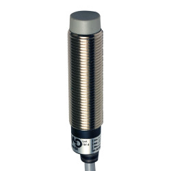 Inductivo 3/D12 detección 4mm cable 2m NO Enrasable