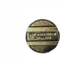 FICHA D28RANURADA (50 UN)