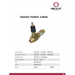Inyector-Venturi de 1,4 mm